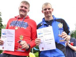 24-Stunden-Schwimmen ist beendet – Florian Wallerius schwamm Marathon