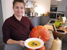 Lecker und gesund: Kürbis-Apfel-Suppe