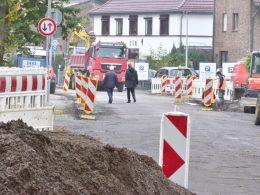 Teilsanierung der Straße Im Reiche des Wassers hat begonnen
