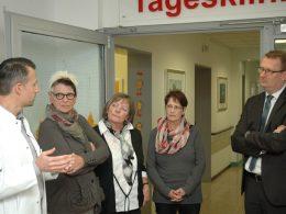 Oliver Kaczmarek: Wissbegieriger Gast im Zentrum für Altersmedizin