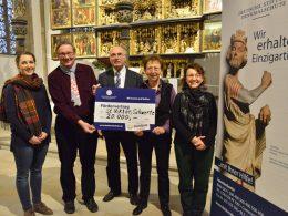 DSD fördert Restaurierung des Altars in Viktorkirche mit 20000 Euro