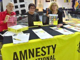 Amnesty Schwerte: Unterschriften gegen Unrecht – Samstag Gast der SCHWERengagierTEn