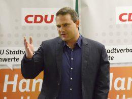 Mit 88 Prozent: Jörg Schindel bleibt Vorsitzender im CDU-Stadtverband