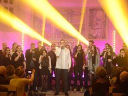 """Ein Chor wie ein Orkan: """"Sounding People"""" begeisterten – und kommen im März wieder"""