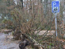 Wanderparkplatz oberhalb von Hiddemann ab sofort gesperrt